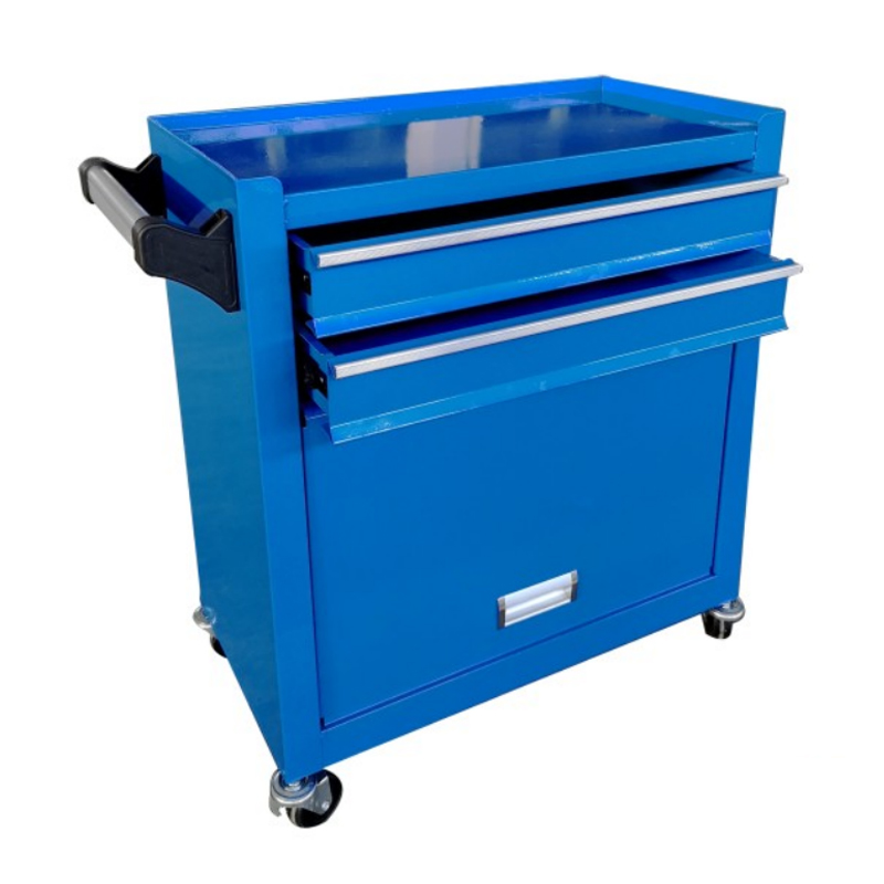 Saving  Space Roller Cabinet In Blue